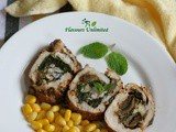 Chicken Stuffed With Mushroom And Spinach