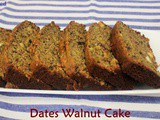 Dates Walnut Cake - Perfect Bite During Holy Month of Ramadan