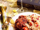 Jujeh Kebab (Chicken Leg with Cranberry Pilaf) - And a food lover's dream comes true
