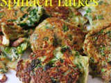 Lazy Potato and Spinach Latkes