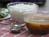 Lemon Pepper n Tomato Rasam - a vegetarian treat for those Itching and Sore Throat