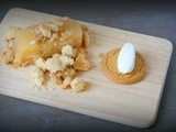 Apple Terrine with a crumble, who said apples are boring