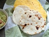 Corn tortilla recipe vs flour tortilla: recipes and thoughts