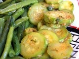 Ideas to make some vegetarian cooked Moroccan salads: different vegetables, 1 line of conduct