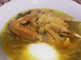 Kadra soup with pigeons or lamb testicles for the braves
