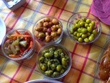 Marinated olives the Moroccan way: 6 ways of making  zitoun mchermel