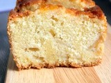 Moist cake aux pommes/ Apple loaf cake