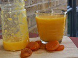 Moroccan apricot and orange juice