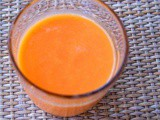 Moroccan carrot, yogurt and orange juice