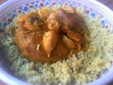Moroccan slow-cooked meat with cumin -l'ham mkoumen