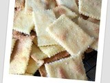 Thin and crispy Polenta and Thyme cracker
