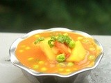 Aloo mutter gravy | aloo peas masala recipe