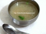 Indo Chinese Vegetable Soup