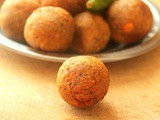 Vegetable kola urundai | vegan meat balls