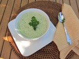 Cream of Broccoli Soup...for Wordless Wednesday