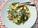 Orecchiette with Broccoli Rabe and Sun-Dried Tomatoes