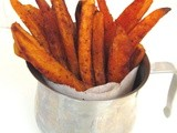 Oven Baked Chipotle Sweet Potato Fries
