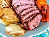 Roasted, Corned Beef and Cabbage