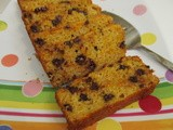 Sweet Potato Bread with Chocolate Chips