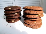 White Chocolate Chip, Chocolate Cookies