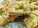 Zucchini and Caramelized Onion Focaccia