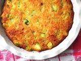 Zucchini Quiche...made easy