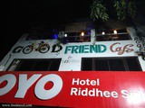 Midnight Coffee at Good Friends Café Agra
