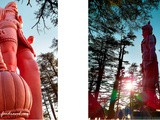 Picturesque Views of Shimla from Jakhoo Temple