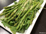 Asparagus with Lemon Dressing