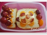 Bento # 10 - Turtles & Penguins in a Bento