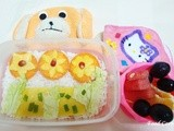 Bento #3 - Flower bed with Egg Sheets