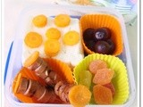 Bento # 8 - Orange Themed Quick Bento