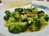 Broccoli Stir Fry in Soy Sauce
