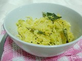 Cabbage stir fry with Grated Coconut (Cabbage Mallun or Cabbage Thoran?? )