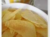 Easy Microwaved Potato Chips