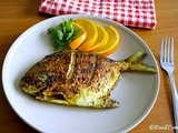 Pan Fried Pomfret Fish