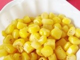 Spicy Corn with Pepper (Easy Bada Iringu Recipe)