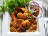 Spicy Prawns in Chili Sauce