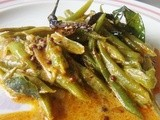 Sri Lankan Green Beans Curry / Bonchi Themparaduwa