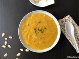 Thai Spiced Pumpkin Soup Recipe : Warm and Healthy