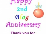 Why i love my Food Blog and celebrating 2nd Blog Anniversary