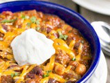 Big Batch Three Bean Chili with Beef