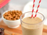 Healthy, 3 Ingredient Date Shake(Naturally Vegan and Grain/Gluten Free)