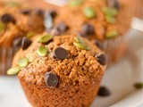 Pepita Chocolate Chip Pumpkin Muffins