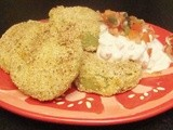 Chili 'n' Cornmeal-Crusted Fried Green Tomatoes