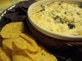 Greek Spinach Dip for the Michigan-Michigan State Game
