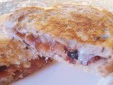 Grilled Bacon, Parmesan, and Fig Sandwich