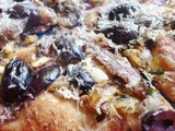 Julia Child Week: Onion Tart with Anchovies and Black Olives