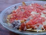 Plantain Chip & Black Bean Nachos for the San Diego State Game