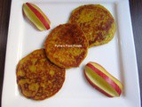 Apple Malpua ~ Eggless Apple Pancakes